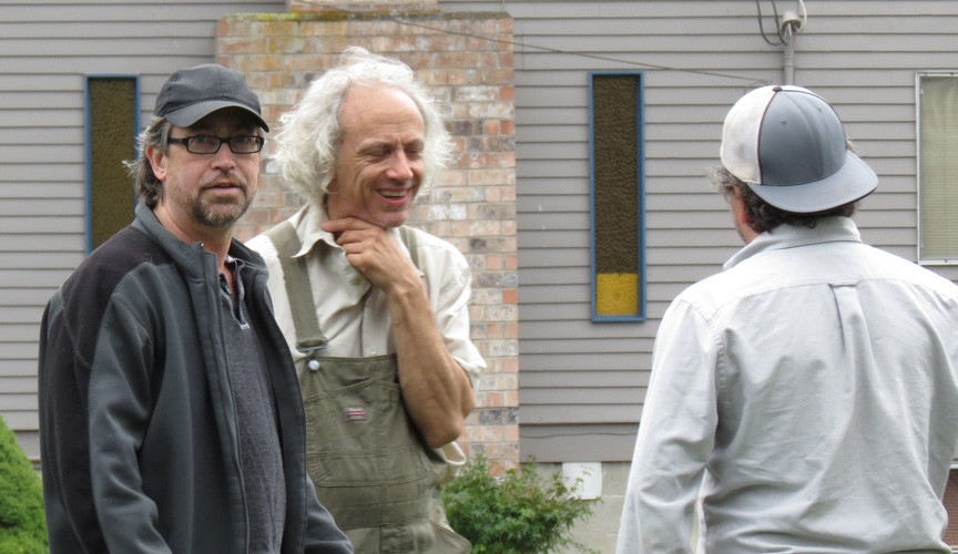 Joseph Kephart (Director) with Rich and John